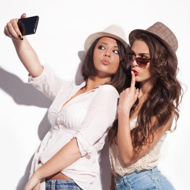 Tirando Selfies Perfeitas